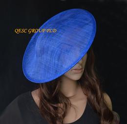 cebb930ed44 NEW red sinamay binding saucer sinamay base fascinator hat craft supply  included satin headband