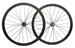 Дисковый тормоз онлайн-Безлимитная асимметричная колесная дисковая дорожка Disc AS35, 38-миллиметровый клинчер / трубчатый карбоновый велосипед 700C, асимметричный бескамерный готовый обод