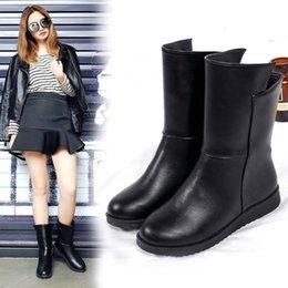 30464032f9b pisos acolchados Rebajas chelsea zapatos de mujer botas de gran tamaño  marca mujer doc martins femme
