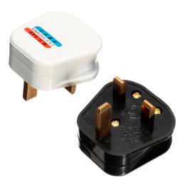 Canada 13A UK Prise électrique 3Pin Socket UK Connecteur Cord Cord Adapter 13 AMP Mains Top Appliance Prise de courant Fusible Adaptateur Ménage Offre