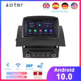 mazda dvd gps bluetooth Rabatt DSP Android 10.0 Auto-DVD-Spieler GPS-Navigation für Megane 2 Fluence 2002-2008 SatNav Funk Multimedia Recorder Kopfeinheit
