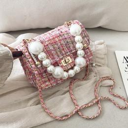 Мини Шерстяной Crossbody Сумки для женщин 2019 Бисероплетение плеча Сумка Женская Цепные сумки и кошельки Зимняя сумка от