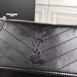 Canada Usine En Gros 2019 nouveau sac à main motif croisé en cuir synthétique de chaîne de sac de sac à bandoulière Épaule Messenger Bag Fashionista 225 # Offre