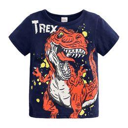 Tshirt di stampa animale online-3 stile bambini ragazzo ragazza manica corta 2019 animale del fumetto di stampa t-shirt bambino bambini vestiti di estate dinosaur t shirt top baby tshirt C21