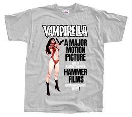 желтое небо Скидка Vampirella V1 Movie Poster T Shirt Красный Желтый Небесно-голубой Цинк Все размеры S 4xl