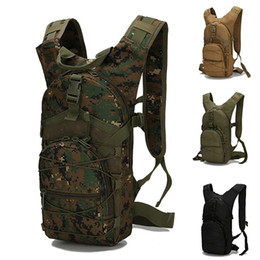 15L Militär militar Wandern Molle Taktische Rucksack 800D Oxford radfahren taschen, Outdoor Sports Rucksäcke Klettern Camping Armee taschen von Fabrikanten