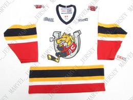 Discount colts jerseys - Cheap custom BARRIE COLTS OHL WHITE VINTAGE CCM HOCKEY  JERSEY stitch add 52109c3ba