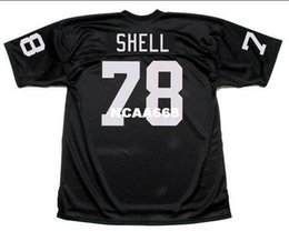 a006ea3e78f Men ART SHELL #78 Sewn Stitched RETRO JERSEY Full embroidery Jersey Size  S-4XL or custom any name or number jersey