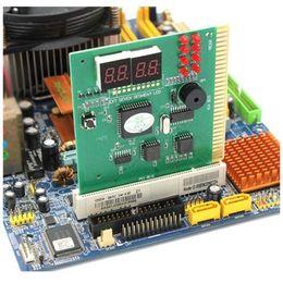 Venta caliente 4 Dígitos PCI Tarjeta Postal Pantalla LCD Analizador de PC Tarjeta de Diagnóstico Probador de Placa Base Herramientas de Redes de Análisis Computarizado envío gratis desde fabricantes