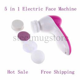 Máquina de belleza multifunción online-El más nuevo 5 en 1 Limpiador de poros de succión Blackhead Absorbing Machine to Wash Oil Instrument Beauty Instrumento de limpieza multifunción