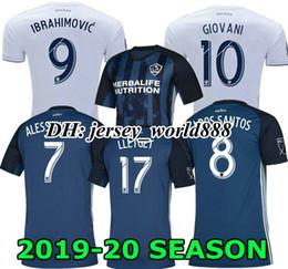 beckham galaxy jersey Desconto IBRAHIMOVIC 19 20 Home branco Longe futebol Camisa JOGADOR VERSÃO LA Galaxy GERRARD azul GIOVANI BECKHAM J.DOS SANTOS 2019 2020 camisa de futebol