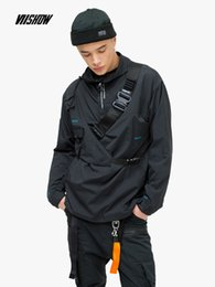 giacche da windbreakers per uomo Sconti VIISHOW Streetwear Giacche da uomo Giacche da lettera di marca Uomo Chaqueta Hombre 2019 Nuovi uomini e giacche a vento JC1117191
