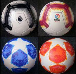 bolas de futebol Desconto 2018 copa do mundo tamanho 5 bolas campeão da liga de futebol bola de alta-grade de alta liga liga de futebol bola de premer (enviar as bolas sem ar)