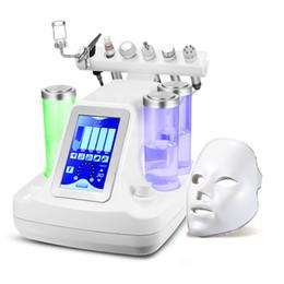 Equipo de chorro de agua online-Nueva llegada 7 en 1 rejuvenecimiento profesional de la piel mini máquina de cáscara de chorro de agua Equipo de microdermabrasión facial con oxígeno de agua