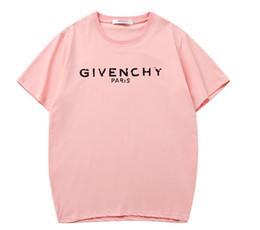 2019 Marque nouveau mens designer t-shirts Alphabet print new product Classical GIVE t-shirt boîte de sport en plein air logo chemise chemise de luxe ? partir de fabricateur