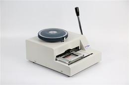 Canada Imprimante manuelle de code, machine de gaufrage pour étiquette de chien en métal, machine d'impression typographique pour rotogravure, embosseuse à plaque métallique Offre