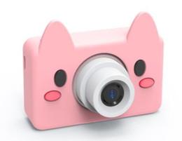 Caméras 1,8 pouces en Ligne-1.8 Pouce 8MP Mini Caméra Digitale pour Enfants Bébé Mignon de Bande Dessinée Multifonction Jouet Caméra Enfants Anniversaire 1pcs