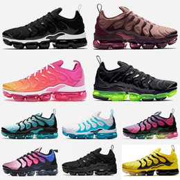 TN PLUS Bumblebee Tennis Sneakers donna Scarpe Vapori Smokey Malva Estate tramonto Nero Volt triple bianchi Betrue addestratori Mens Running Shoes