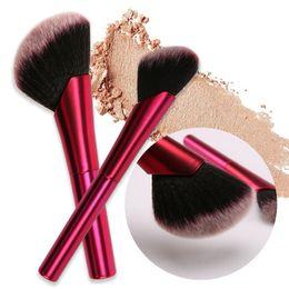 Nouveaux pinceaux pour le maquillage pinceaux pour cheveux synthétiques doux rouges mélangeant le fond de teint cosmétiques pour fard à joues constituent des outils pour pinceaux. ? partir de fabricateur