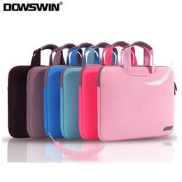 asus laptop fällen Rabatt DOWSWIN Laptop-Tasche für Macbook Air Pro Retina 13 15 Laptop-Hülle 15.6 Notebook-Tasche für Asus Business-Handtasche