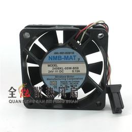 2019 ventilatore di raffreddamento di nmb 2406KL-05W-B59 24V 0.13A 60 * 60 * 15MM 3 ventole di raffreddamento per NMB 60 * 60 * 15mm sconti ventilatore di raffreddamento di nmb