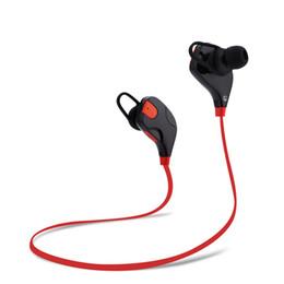 Oreillette bluetooth qy7 en Ligne-Qy7 Oreillette Bluetooth Oreillette Qy7s Oreillette Bluetooth V4.1 Casques Sport Noise Canceling Annulation In Ear Headphone Ecouteurs Stéréo