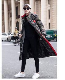 бархатная мандарина с воротником Скидка Дизайнер Mens Woemens Новый бренд Outwear китайский звезды вскользь с длинным рукавом Блузка Top высокого качества куртки пальто размер S-4XL B101315Q