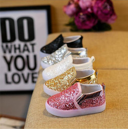 844ec0ec1e Baby Kids Shoes Cute Pink Flowers Girls Shoes Spring Children ...