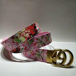 Cinturón de moda para hombre y mujer, letras doradas, cabeza de hebilla, para mujer, cinturón de hebilla lisa, 2019, accesorios de ropa calientes desde fabricantes