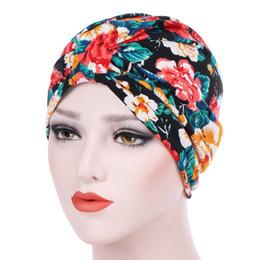 Sexy indisches haar online-Frauen Inner Hijabs Hut Dame Haarbänder Muslim Turban Hijabs Hut Indian Caps Wrap Cap Kopf Turbane für Frauen