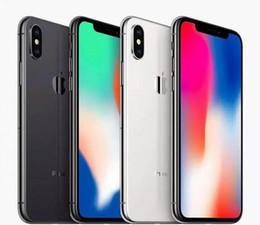 Remodelado Desbloqueado iPhone Original da Apple X Com ID de rosto Hexa Core 64 GB 256 GB 5.8 polegadas Prezado Câmera Traseira 12.0MP telefone recondicionado de