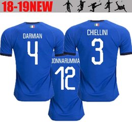 2018 2019 World Cup Italy home blue soccer jerseys Italian VERRATTI Totti  10 PIRLO 18 Buffon 1 Football jerseys uniform adult 0eb4394cb
