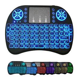 S905w S912 TV Box Tx3 için I8 klavye Arkadan aydınlatmalı Fly Air Fare Uzaktan Arka Işık 2.4GHz Kablosuz Uzaktan Kumanda nereden yeni marka tedarikçiler