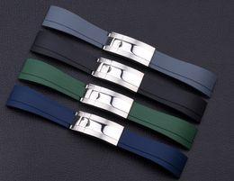 Accesorios para relojes de caucho de silicona para hombre Banda de reloj Hombre Correa de reloj Submariner GMT OYSTER pulsera 20mm desde fabricantes