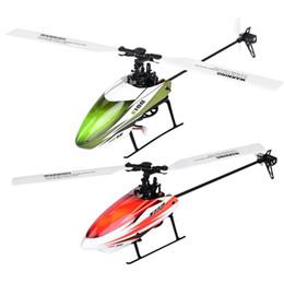 Sin escobillas rc helicopteros online-6G 6 Canales 3D Helicóptero With1106 externo motor sin escobillas 3.7 V 450 mAh 25C batería de gran velocidad PA RC Drone Toy para niños regalo