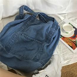 leinwand cowboy tasche Rabatt Wild2019 Literature Years 19 Waschen Cowboy Single Shoulder Span Handtasche aus reiner Baumwolle Joker Will Capacity Canvas Bag