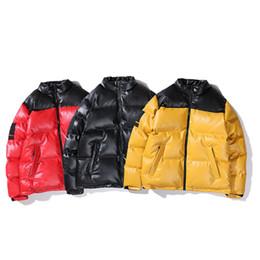 2019 abrigo de piel azul abrigo hombres 2020 abajo de la chaqueta del diseñador del Mens Parka caliente mujeres de los hombres de alta calidad de prendas de vestir exteriores de la chaqueta del diseñador del invierno abrigos Tamaño de 3 colores M-XL