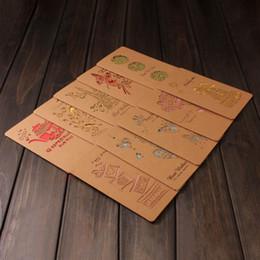 presentes bonitos do natal para amigos Desconto 1pcs criativo bonito Greeting Cards oco papel Kraft desejo cartões pelo ano novo Crianças amigos presente de Ação de Graças Christmas Birthday
