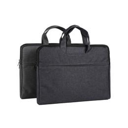 organizzatore di viaggi d'affari Sconti Unisex Document Bags Business Valigetta da viaggio Travel Organizer Pouch Folder Passport Holder Laptop Handbag Viaggio Accessori per notebook