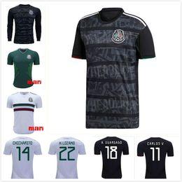 b6cabd5f9 free DHL 19-20 Mexico Custom Soccer Jerseys Customized Thai Quality 14  J.Hernandez 10 G.DOS SANTOS 11 CARLOS V 16 H.HERRERA football shirt cheap  custom ...