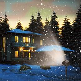 Kar yağışı LED Işık Projektör, su geçirmez Noel Kar Işık, Kar Düşen Projektör Lambası Dinamik Kar Etkisi Spotlight için Bahçe Balo Salonu nereden