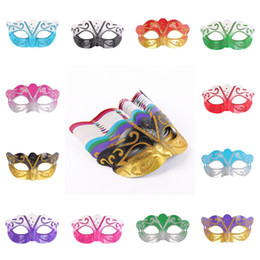 Corona di nozze sexy online-Mardi Gras Venetian Party Mask Halloween Natale Sexy Carnival Dance Mask Cosplay Princess Crown Fancy Regalo di nozze