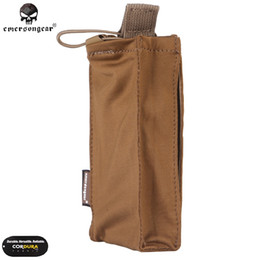 Getriebe präzision online-Emeson Precision Radio Pouch Tactical Molle Pouch für SS Ultralight WESTE Wargame Camo Airsoft Gear Duty Tactical Radio Case # 324554