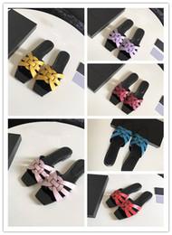 sommersandalen neues design Rabatt Brand Design hochwertige neue Damen Stil Hausschuhe mit offenen Zehen Hausschuhe Sommer breite flache glatte Sandalen