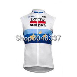 Camisa de lote on-line-Lotto Verão Sem Mangas Ciclismo Jersey Colete MTB Bicicleta Ropa Ciclista Hombre Maillot Ciclismo Corrida de Bicicleta Roupas