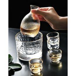 2020 occhiali da cristallo Tazza di vetro del vino giapponese senza piombo cristallo colpo della tazza tazza di vetro High Spirits bicchieri di vino bianco Sake Pot Suit Regali di Natale sconti occhiali da cristallo