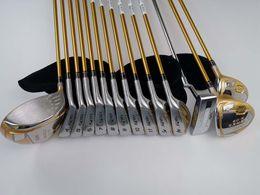Argentina palos de golf para hombres HONMA S-06 conjunto de cuatro estrellas, 14 piezas, conductor, madera de calle, hierros, putters, eje dedicado de grafito, sin bolsa de bolas Suministro
