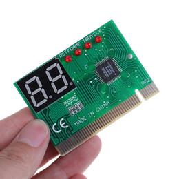 2019 tv-schaltungen 1 STÜCK 2 Digit PCI Postkarte LCD Display PC Analyzer Diagnosekarte Motherboard Tester Computer Analyse Networking Tools