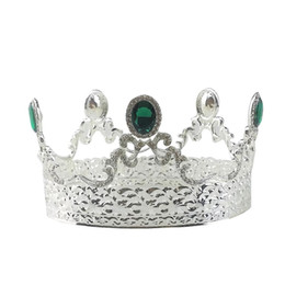 1Pc Vintage Baroque Tiara Party Wedding Pageant copricapo Princess Crown Accessori per capelli per ragazze Ladies Women da