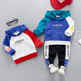 children sport tracksuit sets suits Coupons - Children Tracksuit Kids Clothing Sets Baby Boys Girls Fashion Sports Suits Patchwork Hoodies Sweatshirts+Pants Jacket Boy Clothes